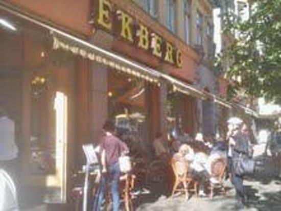 Cafe Ekberg's terrace