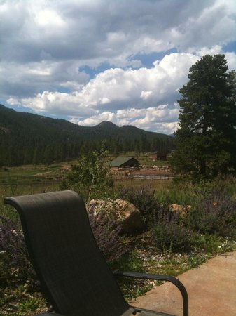 Wind River Christian Family Dude Ranch : looking from swimming pool area