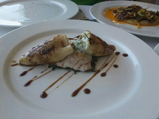 Feriye Palace : prawns