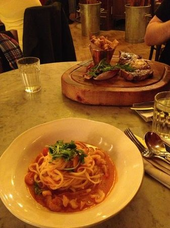Jamie's Italian: great food!!!