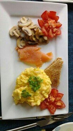 Caw Cottage B&B: colazione