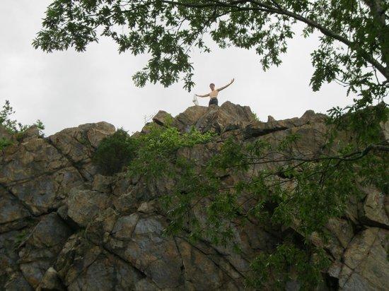 Ballard Park: top of the rock