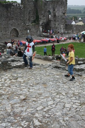 St. Dogmaels Abbey: August Bank holiday Monday Medieval Day at St Dogmaels Abbey