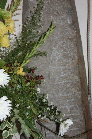 The Segranus Stone: Flower festival in St Thomas' Church
