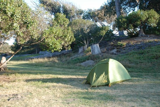 Pismo State Beach North Campground Our Tent At Campsite A Zoomed Out