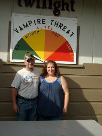 Rosemary Colandrea: Threat meter at 3 Rivers Resort