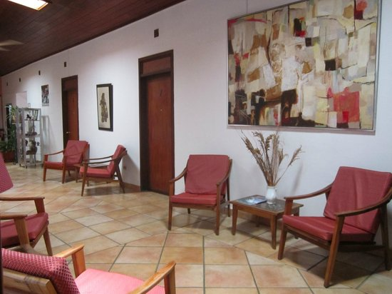 Hotel Europeo: Sala recreativa