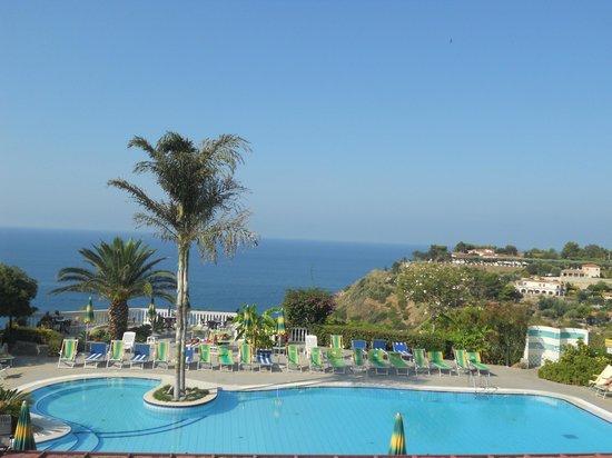 Hotel Residence Sciaron: panorama dalla camera