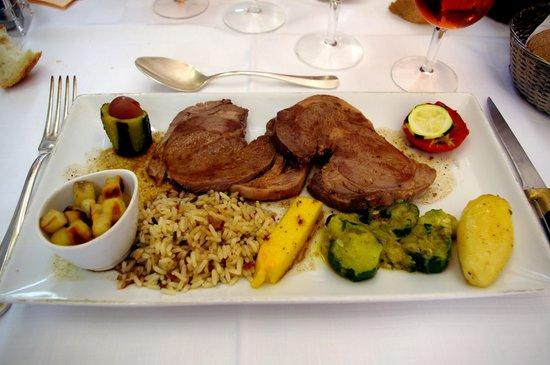 """Restaurant de la Basilique : L'agneau """"minute"""""""