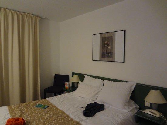 Le Relais de Castelnau : La chambre