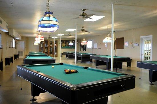 Snow to Sun RV Resort : Billiards Room