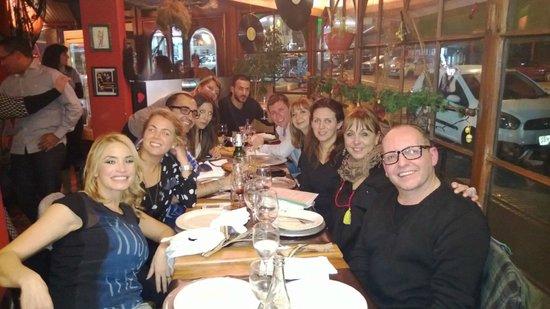 Fellini Pocitos: Con el equipo en Fellini