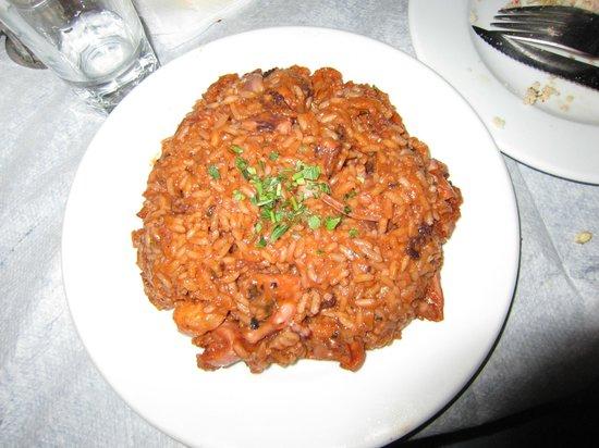 Ouzerie Restaurant Karnagio : Il risotto ai frutti di mare