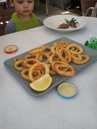 Restaurante El Muelle: Calamares