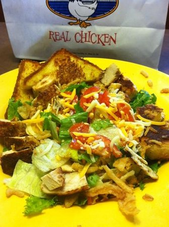 House Salad With Grilled Chicken Picture Of Zaxby S Mount Juliet