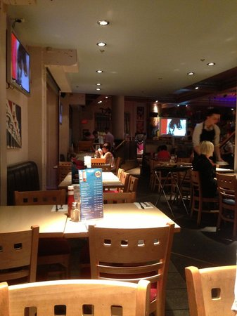Exchange Bar & Grill: Inside