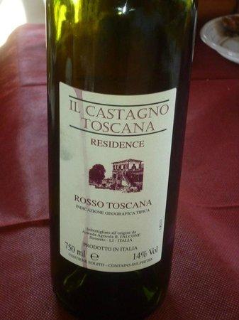 Residence Il Castagno Toscana: vino del castagno