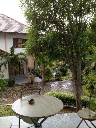 Baan Jasmin Village : vue terrasse villa Baan Jasmin
