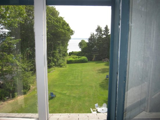 Shore Path Cottage : View from room on 3rd floor.