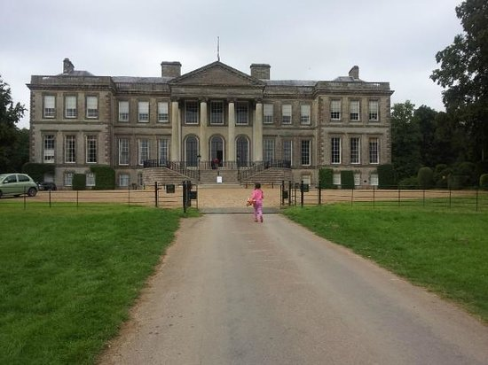 Ragley Hall, Park and Gardens: Entrance
