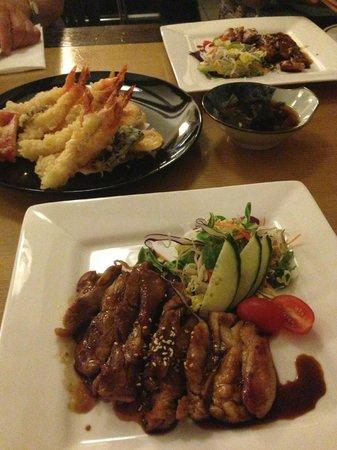 Yum yum terikayi picture of hanabi japanese restaurant for Asian cuisine london
