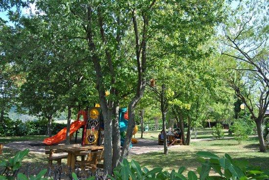 Avacelli, Italia: Parco giochi per i piu piccoli
