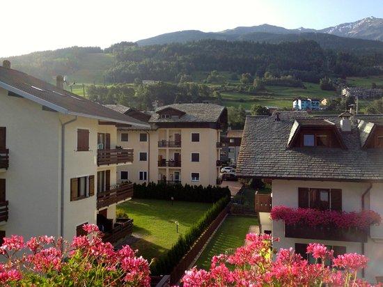 Hotel Alu: panorama dal balconcino