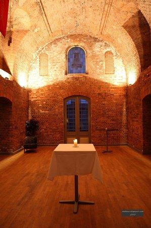Fortaleza de Oscarborg: Внутренний зал