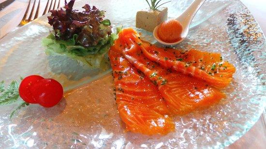 Le Morvan : saumon