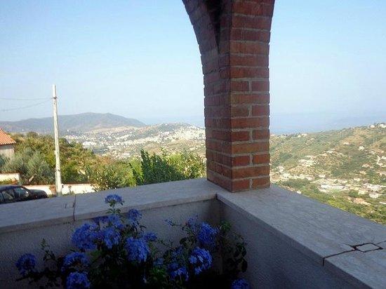 La Civetta: Panorama dalla terrazza