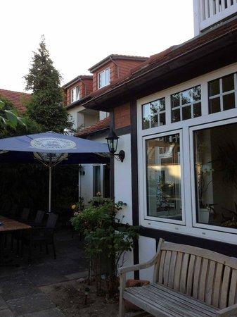 Landhaus Bode: Sah von außen sehr nett aus.