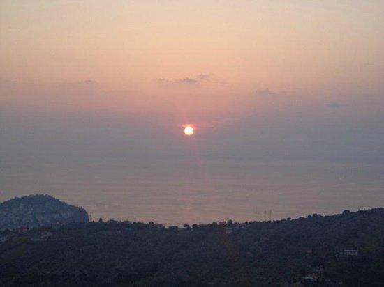 La Civetta: Il tramonto visto dalla stanza