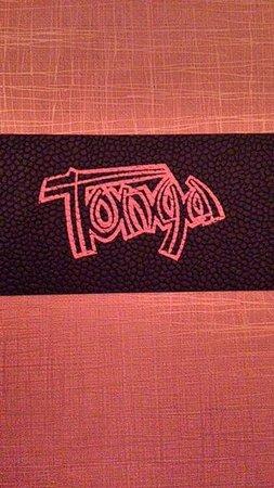 Tonga Room Menu