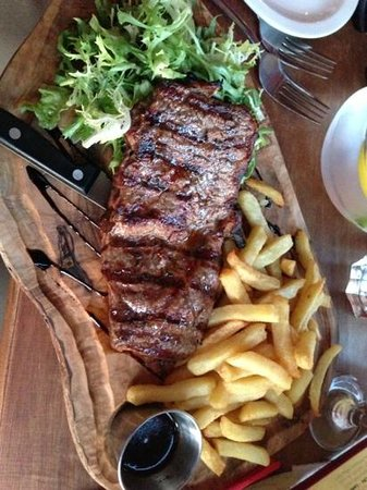 Little Bay Brighton: steak to die for