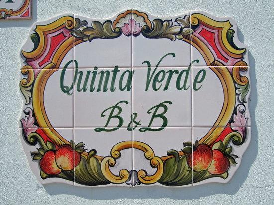 B&B Quinta Verde: Quinta Verde