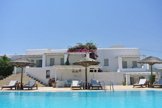 un angolo relax di Anemoi resort