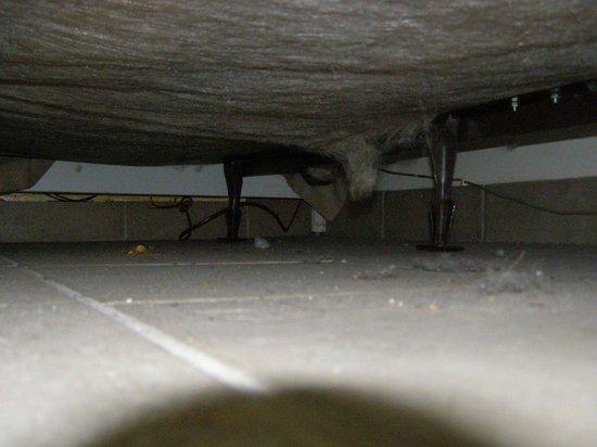Big Horn Motel: Foto van onder het bed