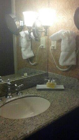 The Brown Hotel: bathroom