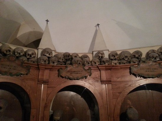 Chiesa dei Morti: sala mummie