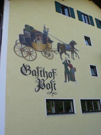 Landgasthof Zur Post : un bel..murales