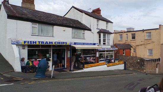 Fish Tram Chips: This is the plaice