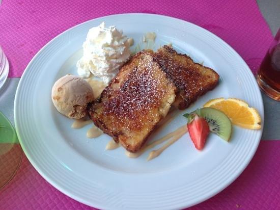 Happy days : pain perdu au caramel beurre sale