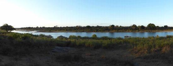 Lower Sabie Restcamp: la rivière Sabie