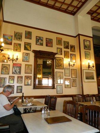 Athinaikon Restaurant: Detalhe do restaurante Athinaikon