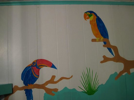 Caribbe Inn: My room decor 3