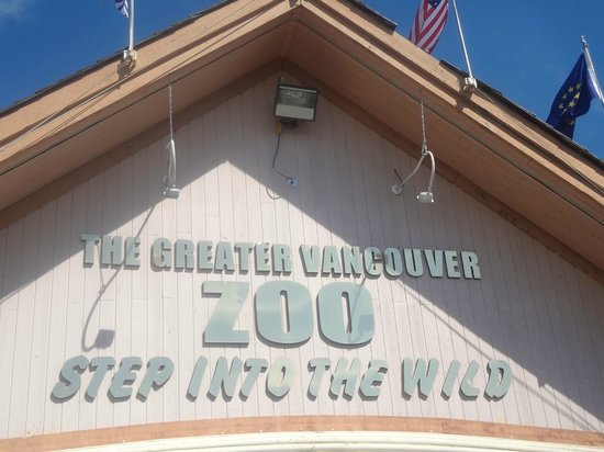 Greater Vancouver Zoo: entrance