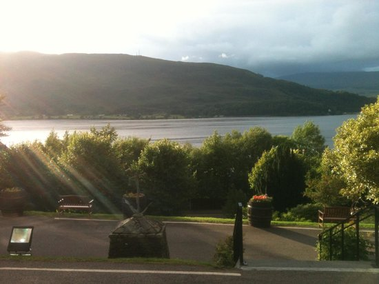 Highland Hotel: view from hotel