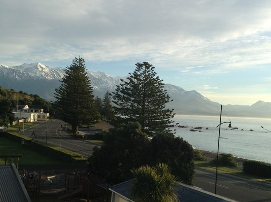 Kaikoura Apartments: Fantastic view from our balcony