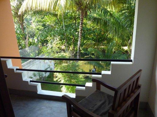 Riverside Cabanas: Un balcon très agréable