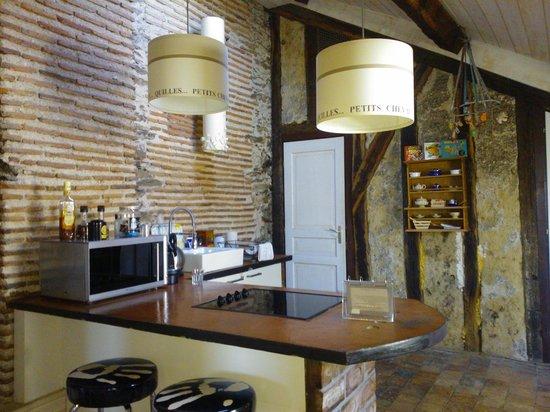 Appartements d'Hôtes Le Jeu et La Gourmandise : espace repas